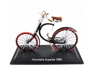 Model bicykla Hirondelle Superbe 1888