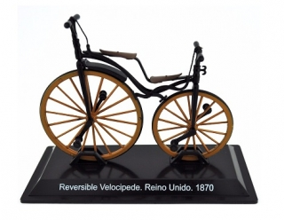 Model bicykla Reversible Velocipede Reino Unido 1870