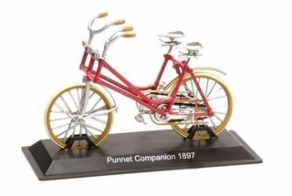 Model bicykla Punnet Companion 1897