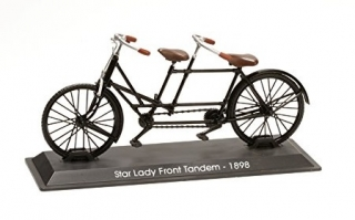 Model bicykla Star Lady Front Tandem 1898