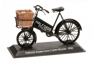 Model bicykla Halfords Tradermans Carrier Bicycle 1950