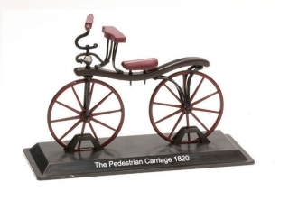 Model bicykla The Pedestrian Carriage 1820
