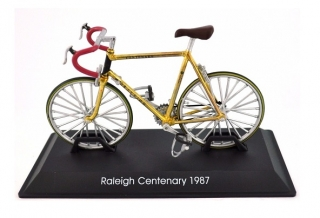 Model bicykla Raleigh Centenary 1987