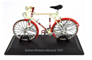 Model bicykla Baines Whirlwind Bicycle 1937