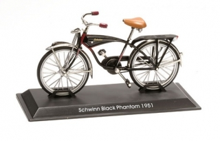 Model bicykla Schwinn Black Phantom 1951