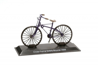 Model bicykla Cross-Frame Safety Bicycle 1888