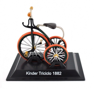Model bicykla Kinder Triciclo 1882