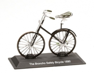 Model bicykla The Broncho Safety Bicycle 1890